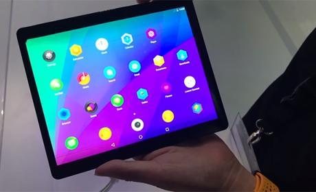 Así es el Lenovo Folio, una espectacular tablet flexible
