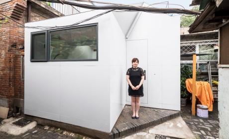 La casa Plug-in permite a cualquiera tener un hogar por 12.000 dólares