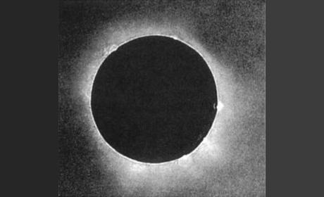 Esta es la primera foto de un eclipse de sol, tomada en 1851