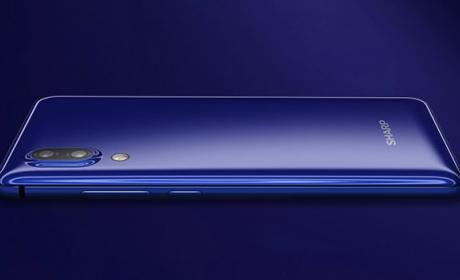 El nuevo teléfono de Sharp que no tiene marcos