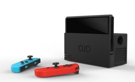 OJO, un dock con proyector para Nintendo Switch
