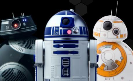Sphero presenta los tres robots de juguete de Star Wars más realistas.