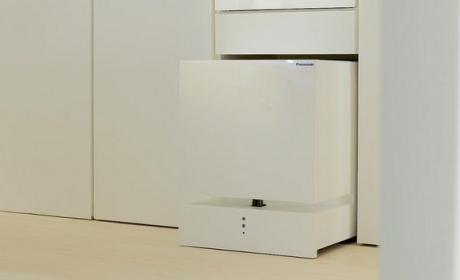 Este frigorífico móvil de Panasonic te trae la bebida al sillón