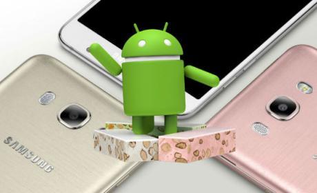 Cómo actualizar el Samsung Galaxy J7 (2016) a Android 7.0 Nougat de forma oficial.