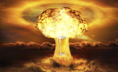 La resistencia de la cerveza frente a una bomba atómica