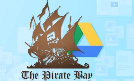 Los piratas están utilizando Google Drive para subir series y películas.