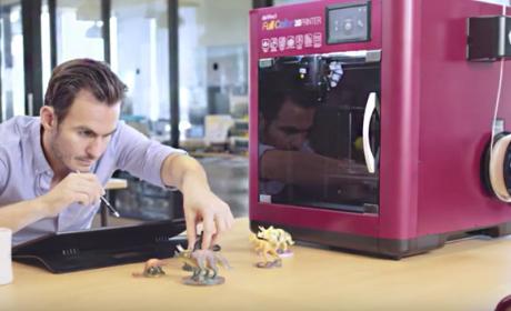 Probamos la da Vinci Color, la primera impresora 3D en color por FDM