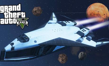 Ya puedes surcar el espacio en Grand Theft Auto V