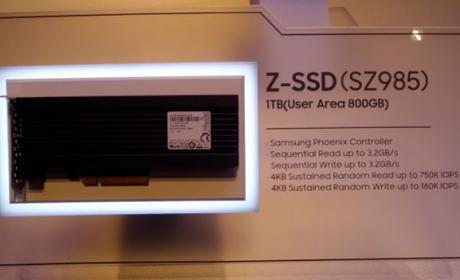 Samsung podría empezar a fabricar los Z-SSD en 2018