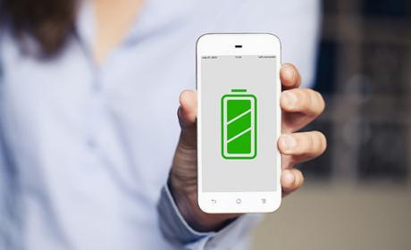 carga inalambrica bateria datos
