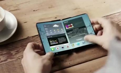 Más cerca del lanzamiento del teléfono flexible de Samsung