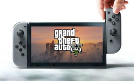 GTA V podría llegar a Nintendo Switch en cuestión de meses.