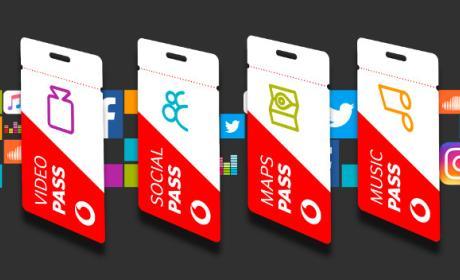 Vodafone Pass baja de precio e introduce dos nuevas tarifas planas.