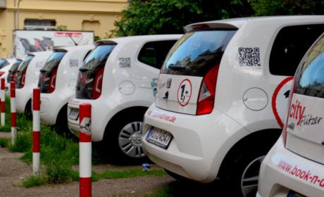 Alquiler de coches Carsharing