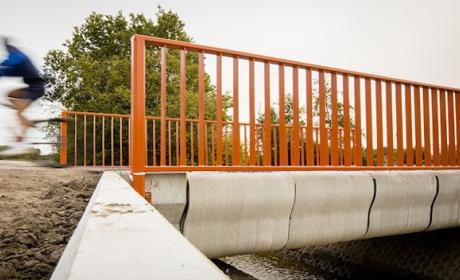Primer puente con impresora 3D Paises Bajos