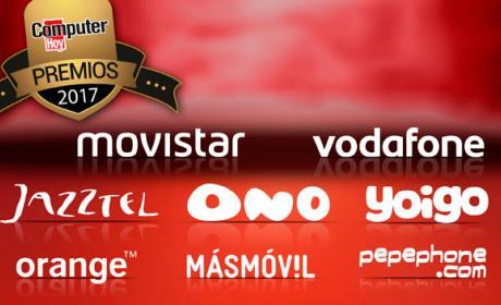 Nominados a mejor operador de telefonía en los Premios Computer Hoy.