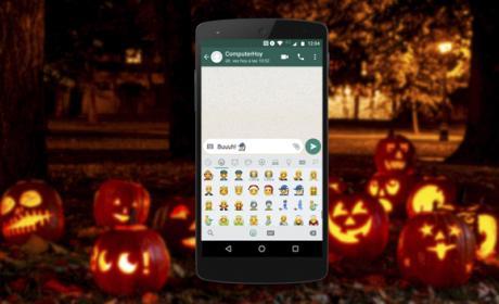 Así puedes mandar emoticonos de Halloween por WhatsApp