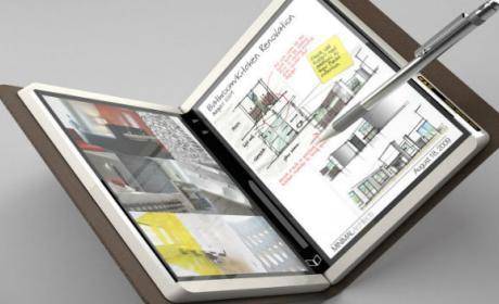 Microsoft Courier, el proyecto abandonado de Microsoft para crear una tablet plegable.