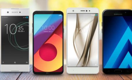 Mejores móviles de gama media que puedes comprar en 2017.
