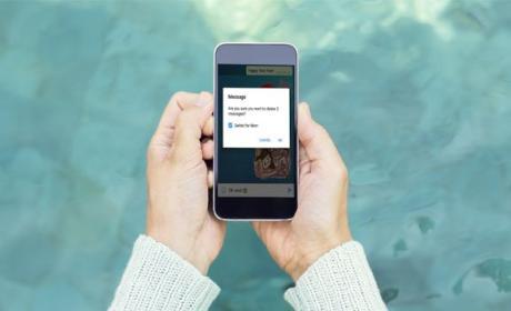 WhatsApp nueva función borrar mensajes enviados
