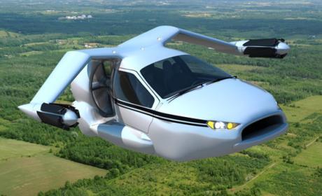 Terrafugia TF-X volando