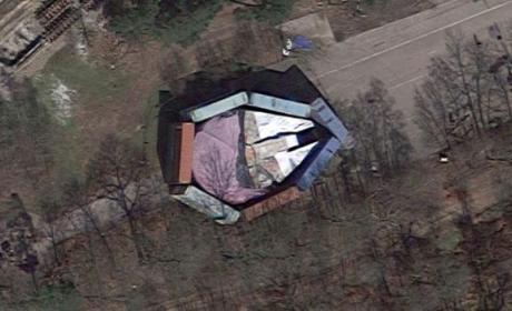 Encuentran el Halcón Milenario en Google Maps.