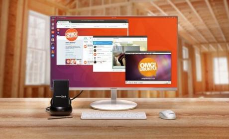 Primer vídeo de Ubuntu Linux funcionando en el Samsung Galaxy S8