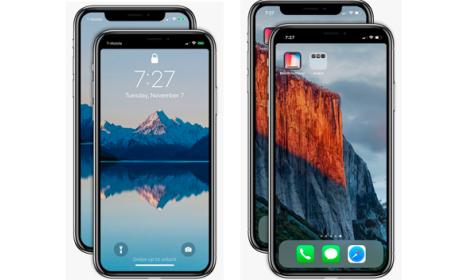 Notch Remover aplicación gratis eliminar ceja iPhone X