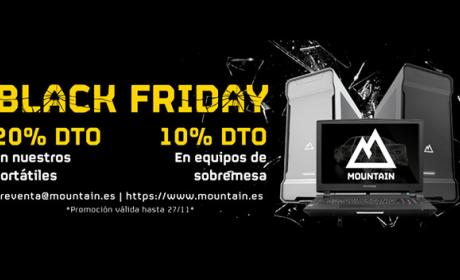Mountain adelanta el Black Friday con rebajas de hasta el 20%