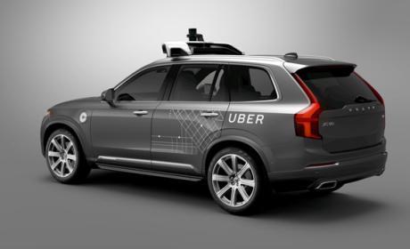 Uber encarga 24.000 coches autónomos a Volvo