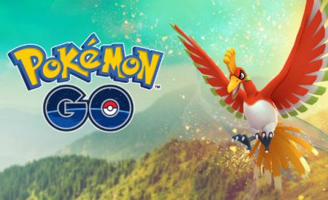 Ho-Oh, ya disponible en Pokémon GO.