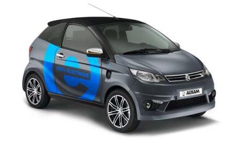 El coche eléctrico de Aixam