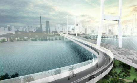 BMW presenta su Hyperloop para bicicletas eléctricas
