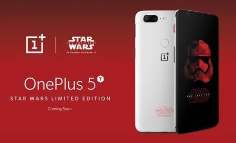 Este es el flamante OnePlus 5T edición Star Wars