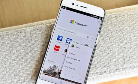 Microsoft Edge sobrepasa el millón de descargas en Android