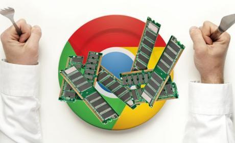 Google Chrome ahora consume mucha más memoria RAM.