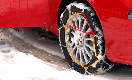 En el mercado existen cuatro tipos de cadenas de nieve. Las metálicas son las más conocidas