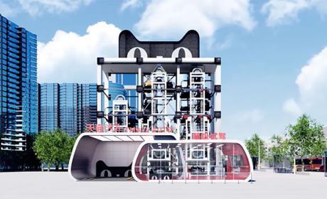 Esta máquina expendedora de Alibaba venderá coches en China en 2018