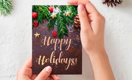 Plantillas descargar felicitaciones Navidad