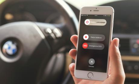 como hacer llamadas de emergencia desde iPhone