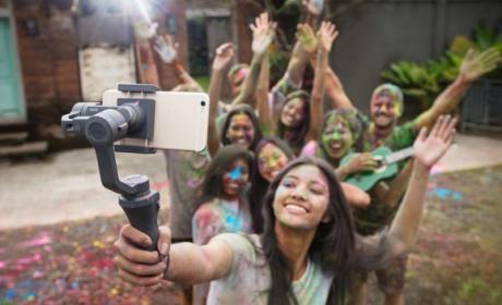 DJI Osmo Mobile 2, el palo para selfies con estabilizador