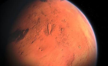 Encuentran agua en Marte, y podría ser potable.