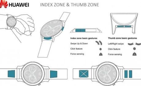 Huawei piensa en un smartwatch con marcos funcionales