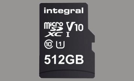 Tarjeta microSD 512Gb