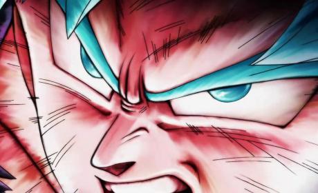 Goku dragon ball super en el torneo de poder