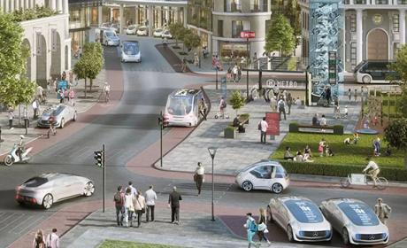 Mercedes y Bosch se alían para los taxis autónomos del futuro