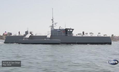 Sea Hunter, la minifragata sin tripulación que persigue submarinos