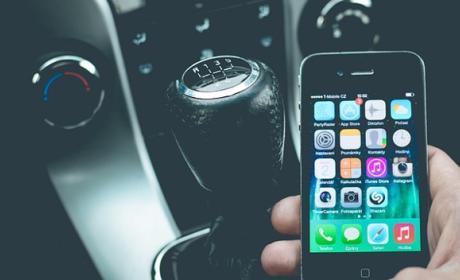 Aplicación de carnet de conducir.