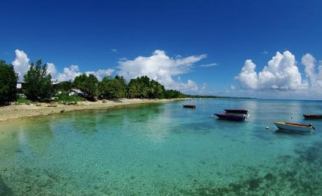 Tuvalu, la isla que se niega a hundirse por el cambio climático.