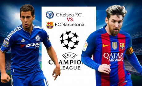 Links para ver online por Internet el Chelsea vs Barça de Champions League 2018.